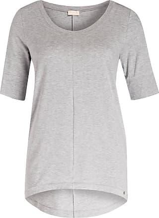 Hanro Lounge-Shirt YOGA - HELLGRAU MELIERT