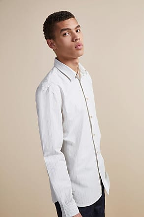 French Connection Core Peach Cotton Shirt