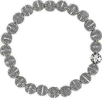 Nialaya geometric beaded bracelet - SILVER