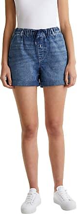 EDC by Esprit Womens 040cc1c306 Denim Shorts, 901/Blue Dark Wash, 30