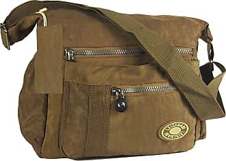 GFM Nylon Water Resistant Cross Body Bag (88)(1503-HLKEK)