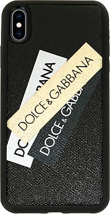 Dolce & Gabbana Capa para celular com logo - Preto