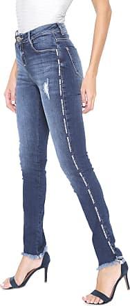 Morena Rosa Calça Jeans Morena Rosa Skinny Isabelli Azul-marinho