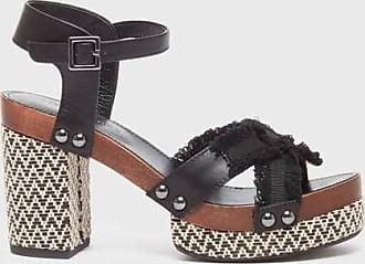 Kelsi Dagger Flora Sandals Black Platform WomenS Sandal 7.5