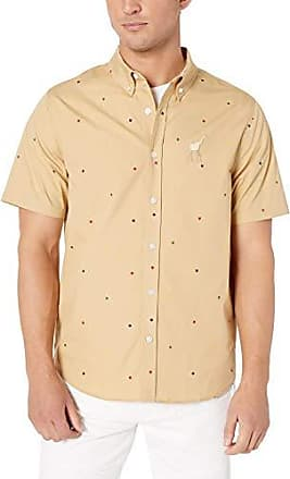 LRG Mens Lifted Research Group Button Down Woven Floral