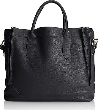 Chicca Borse Handbag leather woman 37 x 30 x 15 cm - mod. Elena