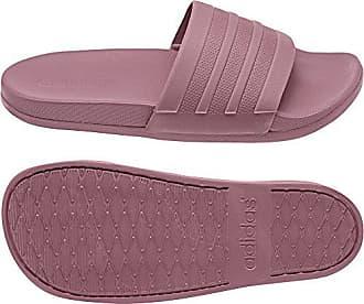 sale retailer b86ce 62e59 adidas Damen Adilette Cloudfoam Plus Mono Slipper Dusch-  Badeschuhe  Mehrfarbig Gr A Tr A