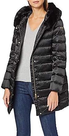Geox W kalinda f9000 nero Donna Abbigliamento Piumino