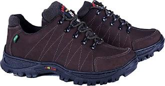 Di Lopes Shoes Tênis Adventure Confeccionado em Couro (41, Preto)