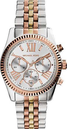 Michael Kors MK5735 Lexington Ladies Watch Slvr/Gld/RseGld