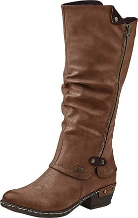 Rieker Sierra Womens Long Boots 6.5/40 Tan