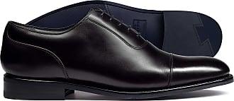 Charles Tyrwhitt Budapester Oxford Schuh mit Flügelkappen braun