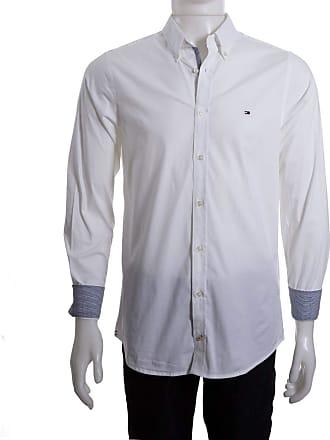 cd417b5a4 Tommy Hilfiger Camisa Social Masculina Tommy Hilfiger Slim Th0857872321