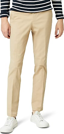 Selected Homme Mens Shdslim-mathcot Trouser STS, Beige (Sand), (Size: 32)