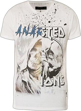 Religion Anarchy 27BANG05 T-Shirt White - White - X-Large