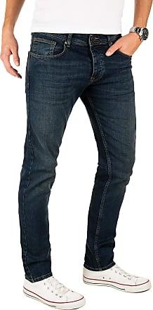 Yazubi Designer Mens Jeans Edvin - Slim Fit Jeans Cobalt Midnight, Blue (Dark Denim 194118), W34/L30