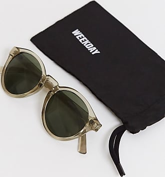 Weekday Runde Sonnenbrille-Beige