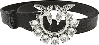 Pinko Belt for Women On Sale, Black, Leather, 2019, Small Medium Large Extra Small