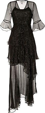 We Are Kindred Arabella Kleid mit Metallic-Streifen - Schwarz