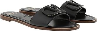 Valentino Loafers & Slippers - VLogo Slides Black - black - Loafers & Slippers for ladies