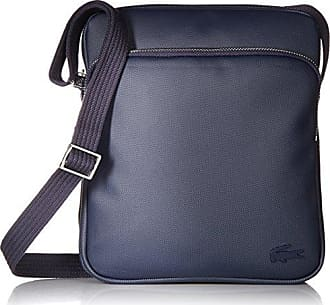 Lacoste Mens Classic Petit Pique Double Bag, peacoat, One Size
