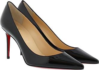 b664e3bddfe Christian Louboutin Decollete Patent Leather Heel Pumps Black Pumps schwarz