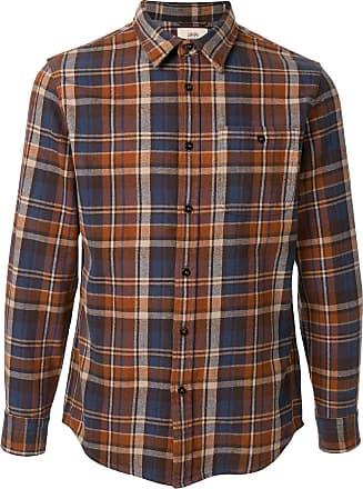 Kent & Curwen check pattern shirt - Brown