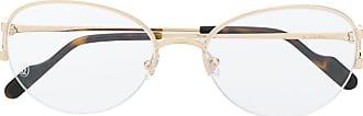 Cartier C Décor glass frames - Dourado