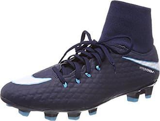 info for 3f644 c5e59 Nike Hypervenom Phelon 3 DF FG, Chaussures de Football Homme, (Obsidienne  Gamma Bleu