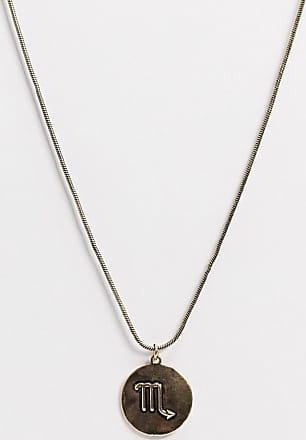 7X SVNX Scorpio horoscope necklace-Gold