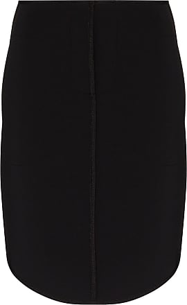 We11done high-waisted neoprene skirt - Black
