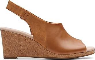 Clarks Womens Sandal Tan Clarks Lafley Jess Size 7.5