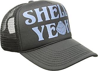 O'Neill Womens Sun Kiss Screen Print Trucker Hat, Pavement/Charcoal, One Size