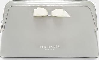 Ted Baker Bow Detail Wash Bag in Grey CAFFARA, Womens Accessories