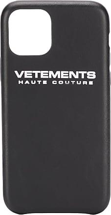 VETEMENTS Capa para iPhone 11 com logo - Preto