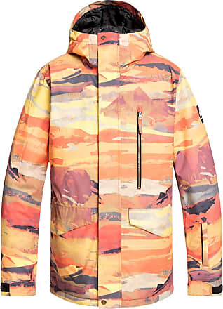 Quiksilver Mission Printed Jacket barn red matte painting