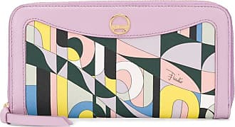 Emilio Pucci Carteira com estampa abstrata - Rosa