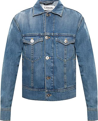 Lanvin Denim Jacket Mens Blue