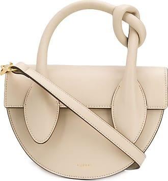 Yuzefi Dolores knot handle tote bag - NEUTRALS