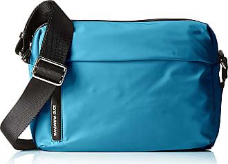 Mandarina Duck Hunter Tracolla, Womens Shoulder Bag, Blue (Fjord Blue), 11x22x28 cm (B x H T)