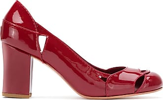Sarah Chofakian patent leather Bruxelas pumps - Red