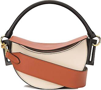 Yuzefi Dip half-moon shoulder bag - Brown