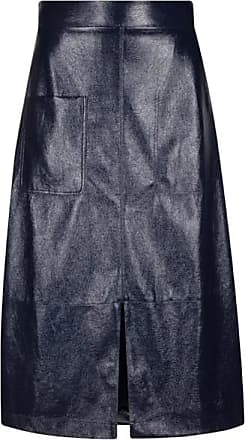 Mykke Hofmann Fake-leather skirt Ravy