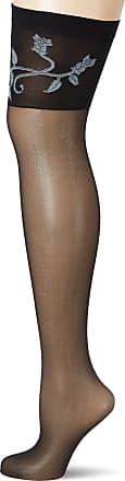 Fiore Womens Epoca/Sensual Suspender Stockings, 20 DEN, Black, Small (Size: 2)