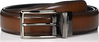 Tone Matte and Shine Buckle Reversible Belt Belt Perry Ellis mens Perry Ellis Portfolio Mens 2