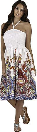 Lora Dora Ladies Floral Casual Summer Dress Multi XL