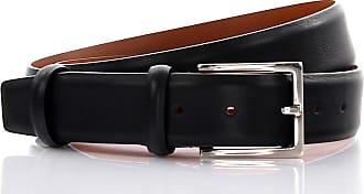 Santoni Men´s belt leather black