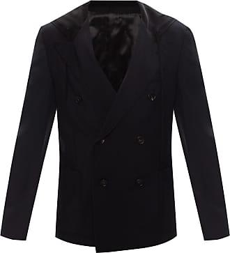 Lanvin Hooded Wool Blazer Mens Black