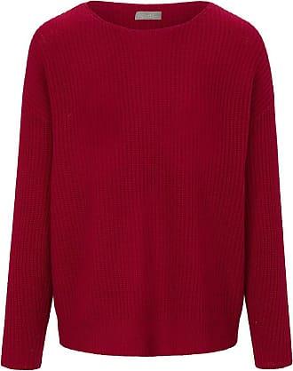include Rundhals-Pullover aus 100% Premium-Kaschmir include rot