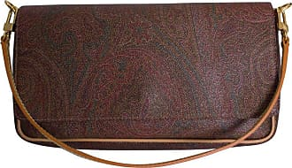 Etro A Small Paisley Pattern Leather Handbag By